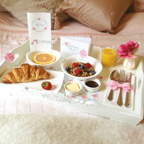 café da manhã dia das mães