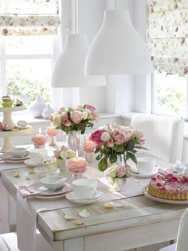 mesa de jantar para o dia das mães