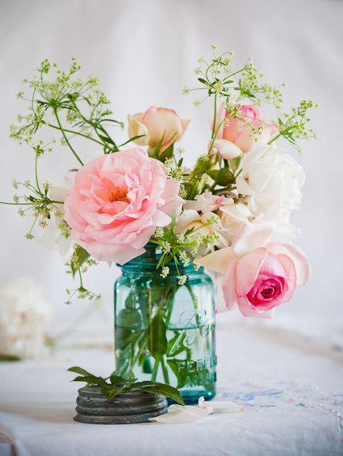 Flores na decoração de inverno