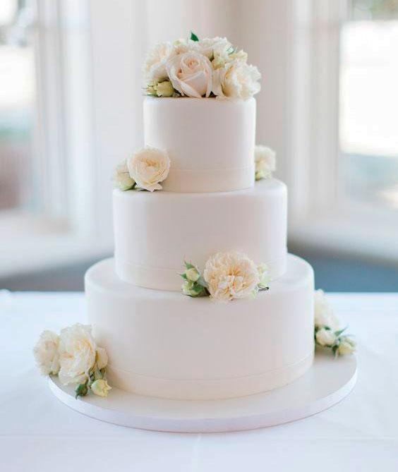 bolo de casamento clássico