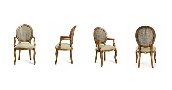Cadeira Medalhão Iaza