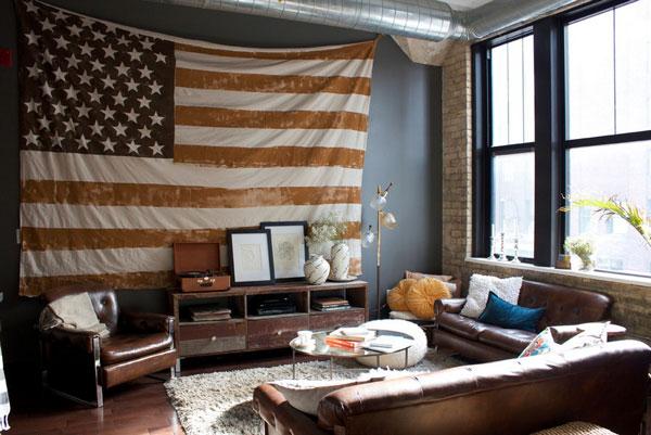 decoração americana