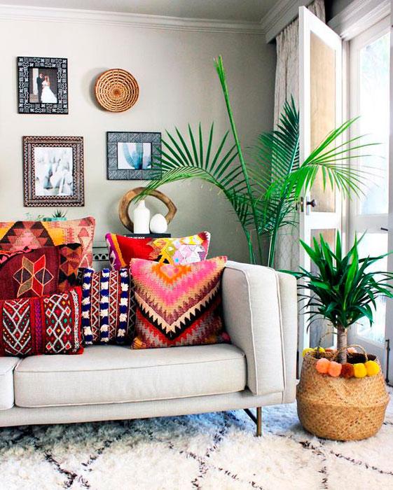 como decorar a sala de estar