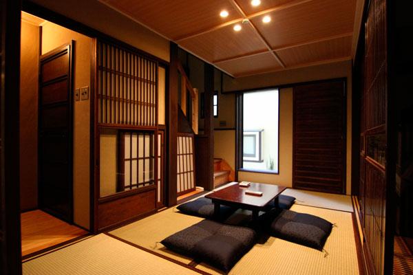 sala de estar japonesa
