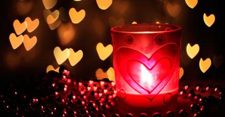 Decoração romântica Dia dos namorados