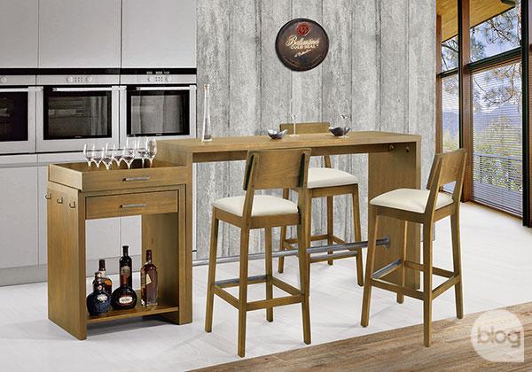 móveis para área gourmet rústica