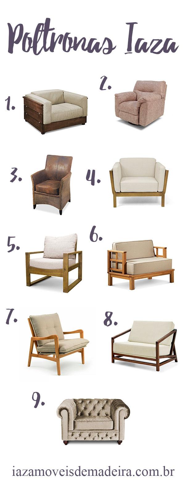 poltronas decorativas blog da iaza móveis