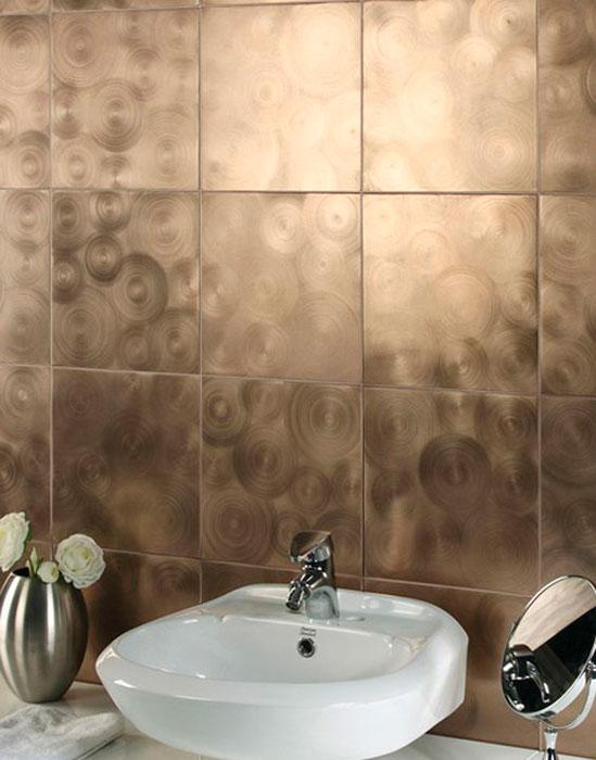 banheiro metalizado