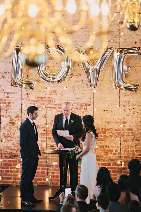 tendências de casamento
