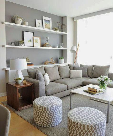 sala de estar compacta