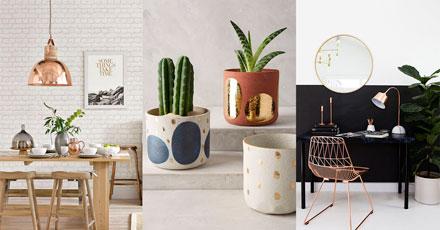 Metálicos na decoração - blog iaza móveis
