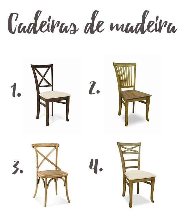 Cadeiras de madeira iaza blog