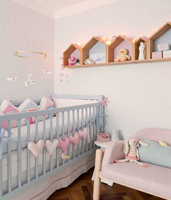 quarto infantil com candy colors