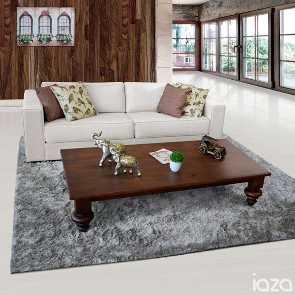 Sala de estar rústica