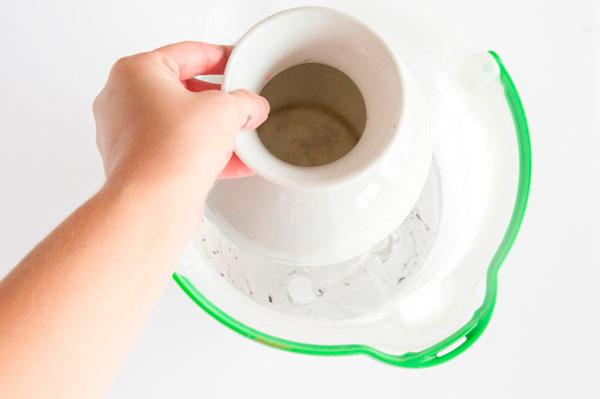 faça você mesmo vaso marmorizado