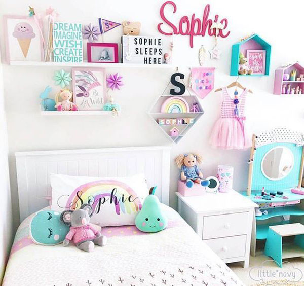 quarto infantil candy colors