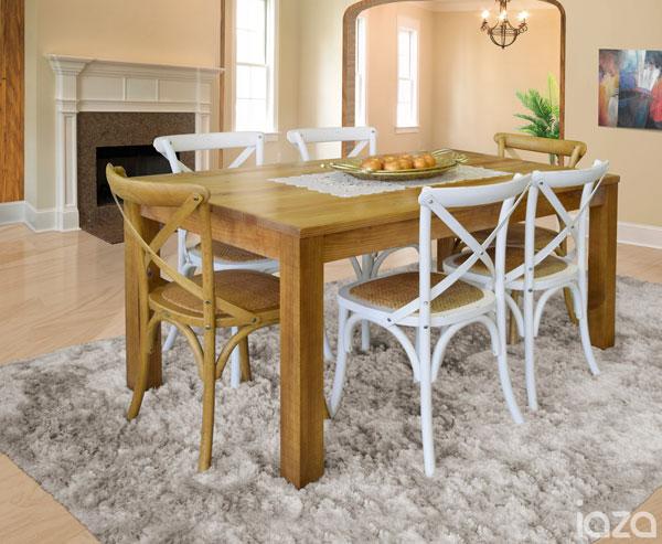 Cadeiras para decoração da sala de jantar