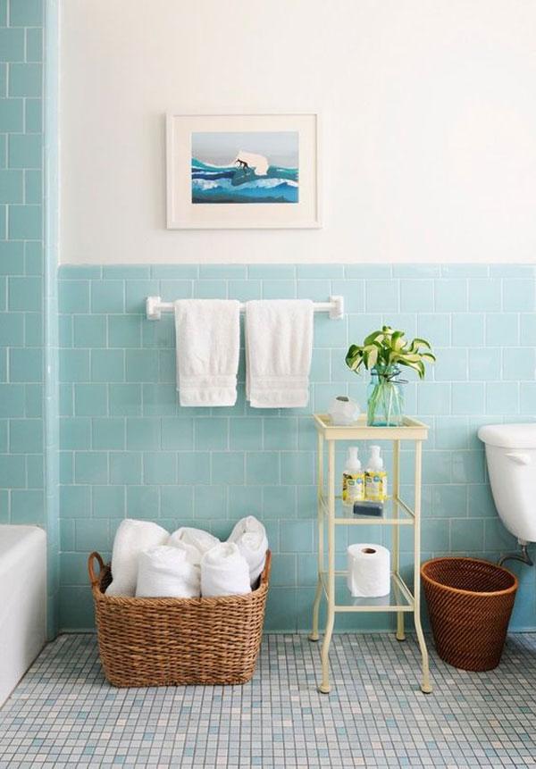 banheiro candy colors