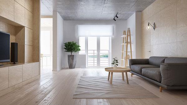 Decoração minimalista - blog da iaza