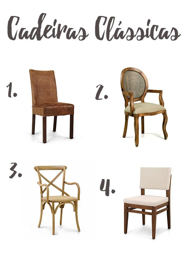 Cadeiras clássicas - iaza móveis
