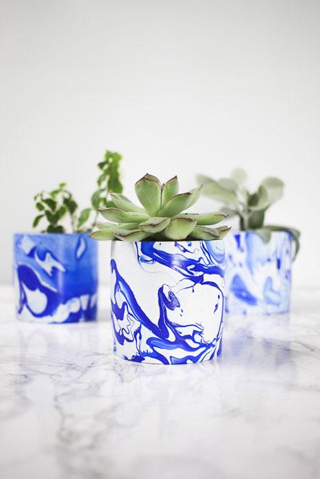 vaso marmorizado blog iaza móveis