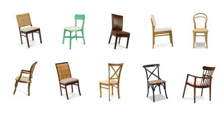 Cadeiras da sala de jantar