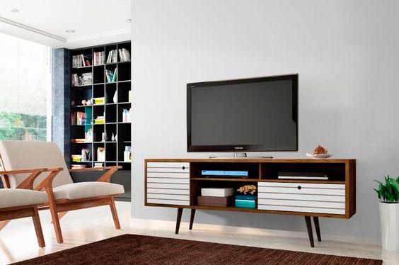 Sala de estar retrô - iaza blog