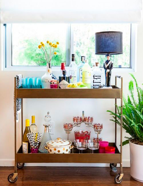 decorar o bar em casa - blog iaza móveis
