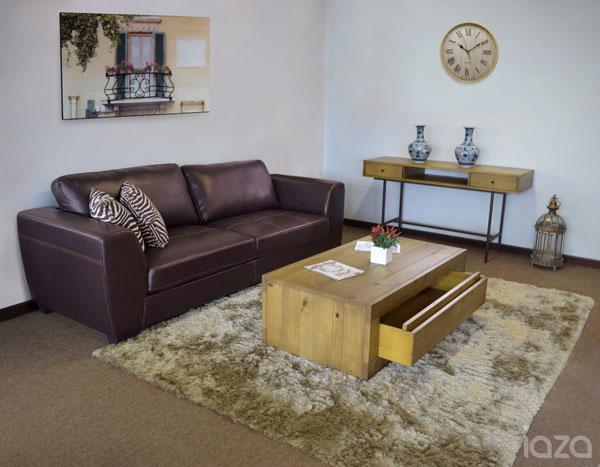 Sala de estar rústica renovada - iaza móveis