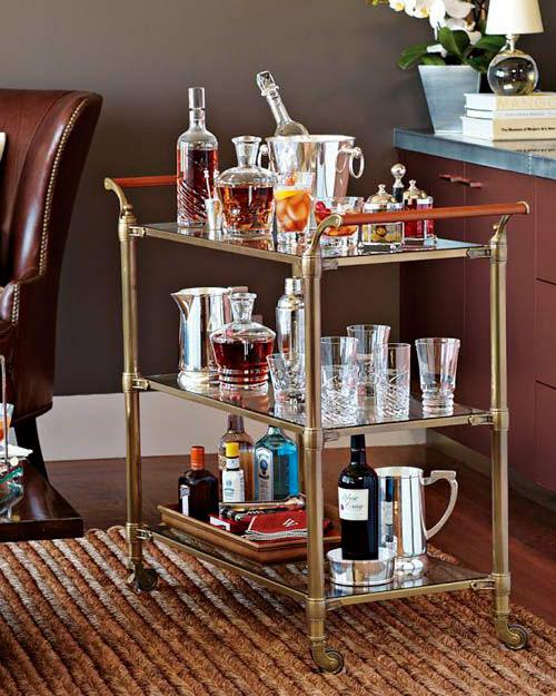 Como decorar o bar em casa