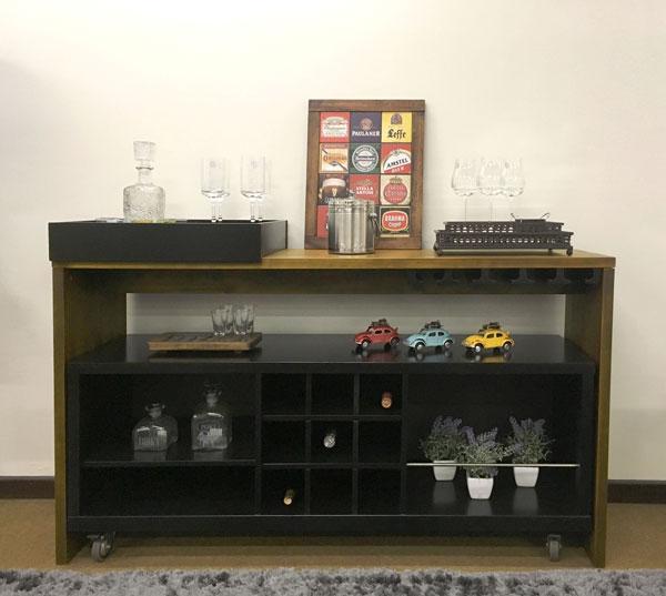como montar um bar em casa