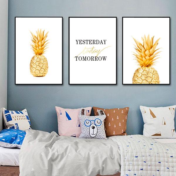 abacaxi na decoração blog iaza