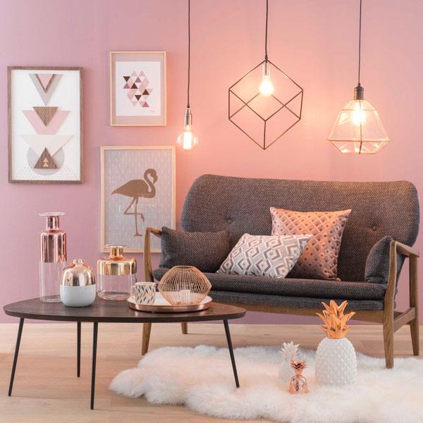 flamingos na decoração iaza blog