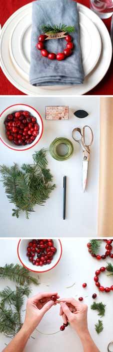 DIY mesa de natal