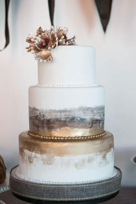 bolo para casamento industrial