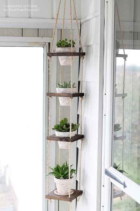 jardim vertical feito em casa