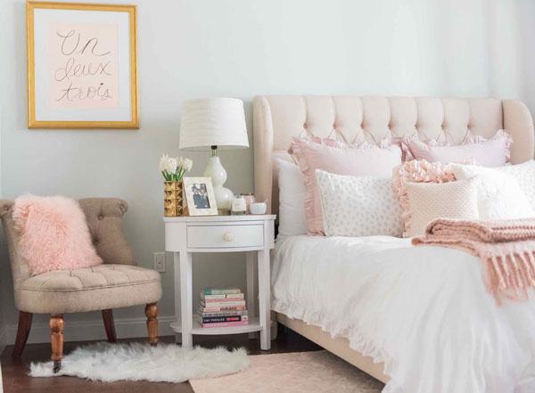 Light Pink And Gold Bedding: Conheça As Tendências De Decoração Para 2018