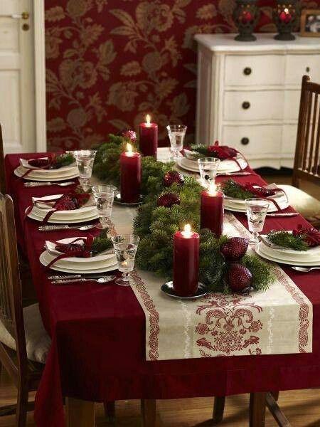 mesas de natal: como decorar