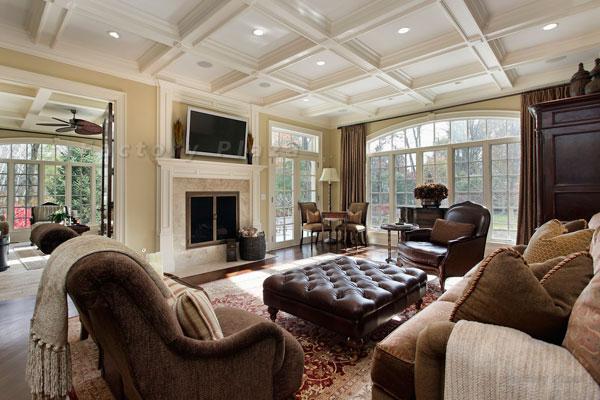 Sala de estar grande - iaza blog