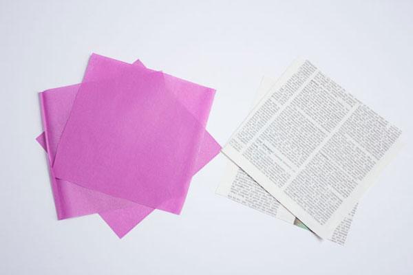 Como fazer arranjo com flores de papel
