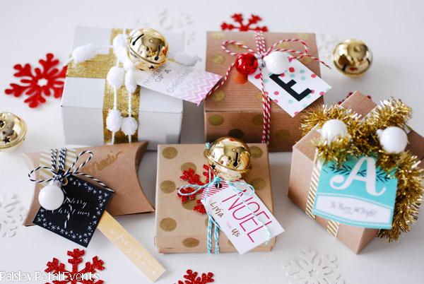 Embalagens de natal blog da iaza