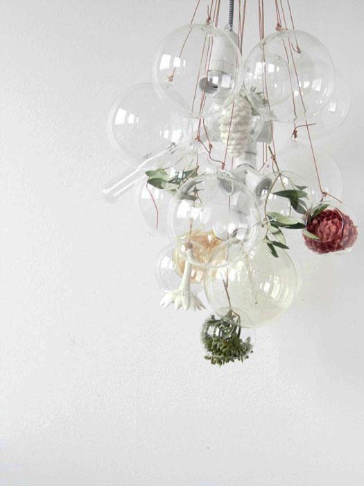 DIY pendente botânico iaza blog