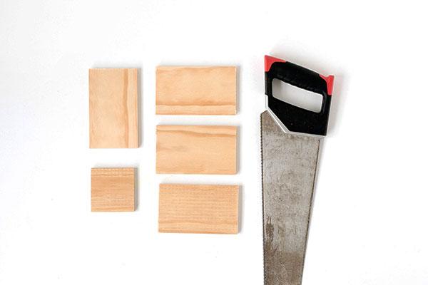Faça você mesmo DIY - vaso de madeira