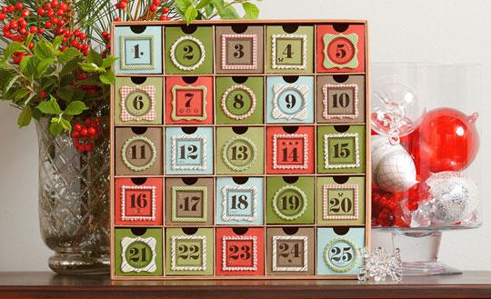 calendário advento 2017