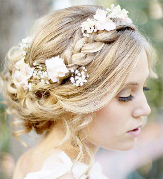 noiva no casamento de primavera