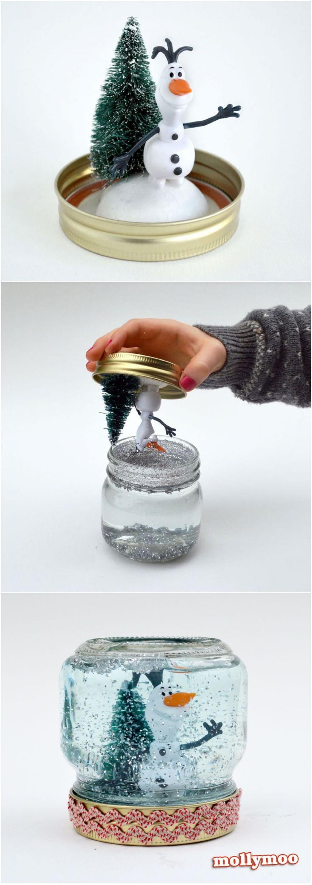 Como fazer globo de neve iaza blog
