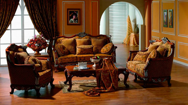 sala de estar clássica