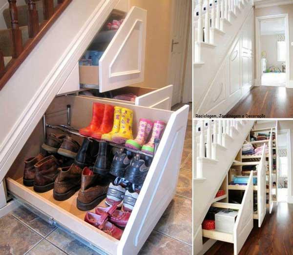 Como decorar a escada