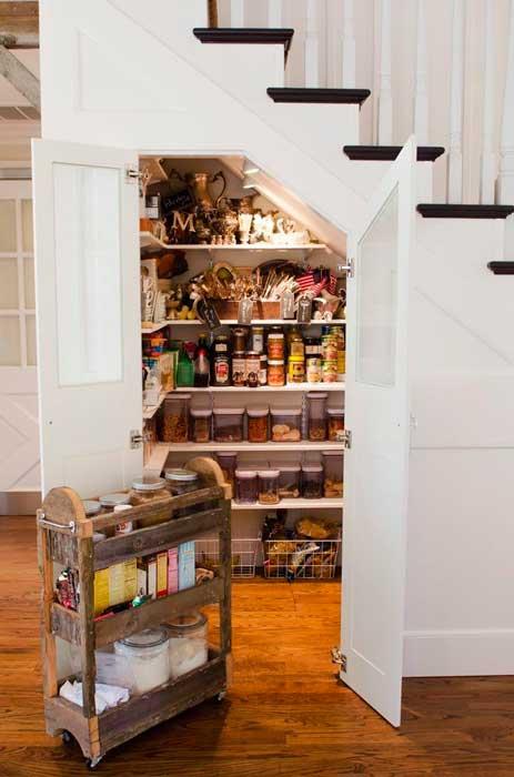 Como decorar o corredor e a escada