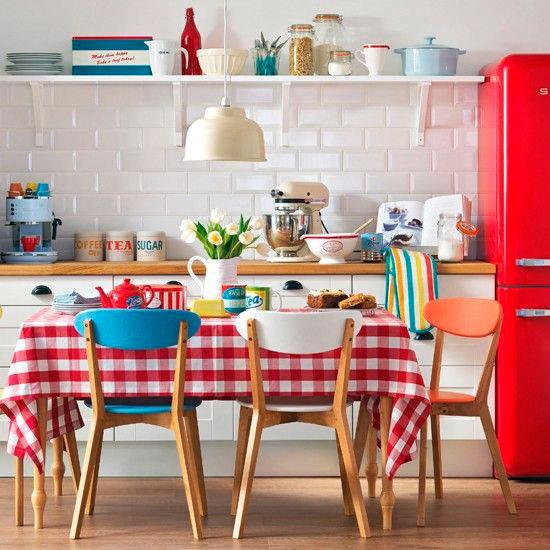 Estilos de decoração cozinha retrô